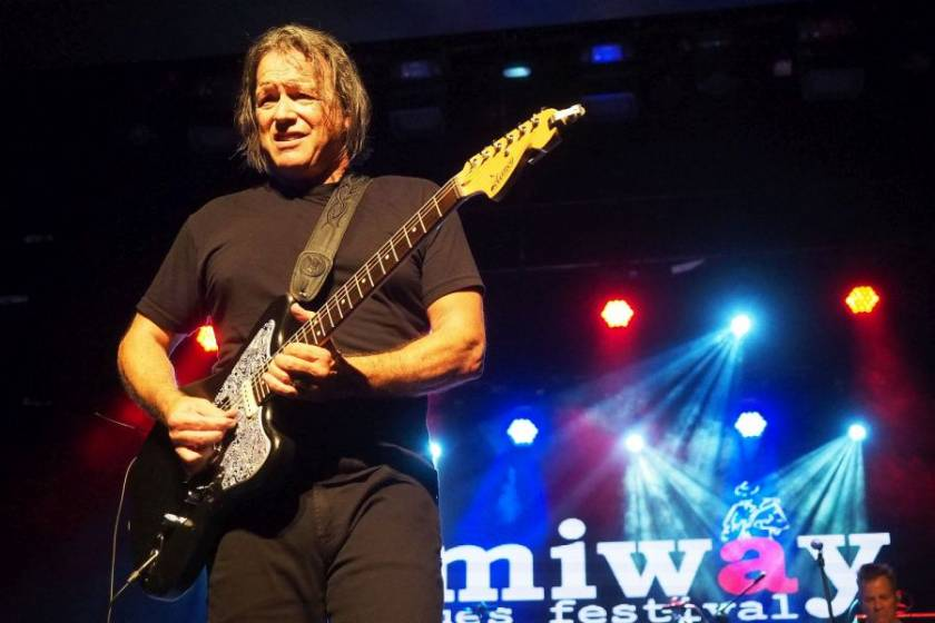 Tommy Castro and the Painkillers at Jimiway Blues Festival 2018