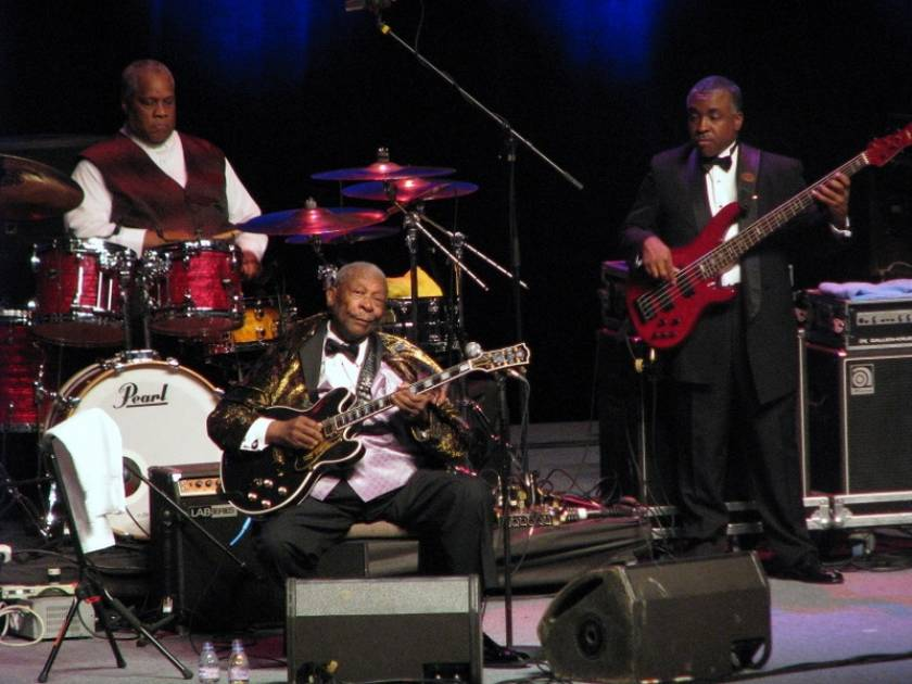 B.B. King live in Prague, July 2011