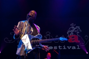 Alvon Johnson na Jimiwy Blues Festival