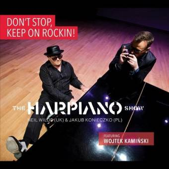 The Harpiano Show – Don't Stop, Keep on Rockin!