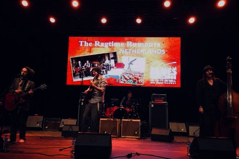 European Blues Challenge 2018. The Ragtime Rumours are the winners!