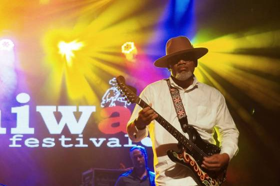 Toronzo Cannon at Jimiway Blues Festival 2018